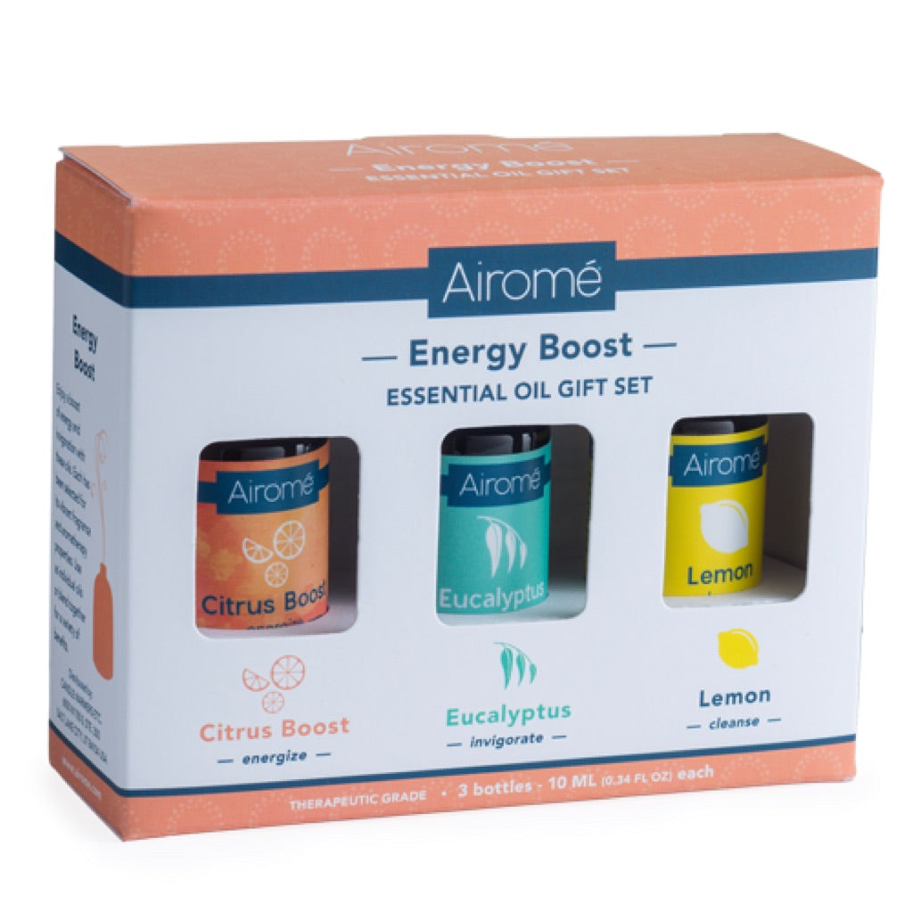 Airome Energy Boost Essential Oil Gift Set