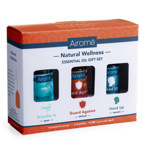 Airome Natural Wellness Essential Oil Gift Set