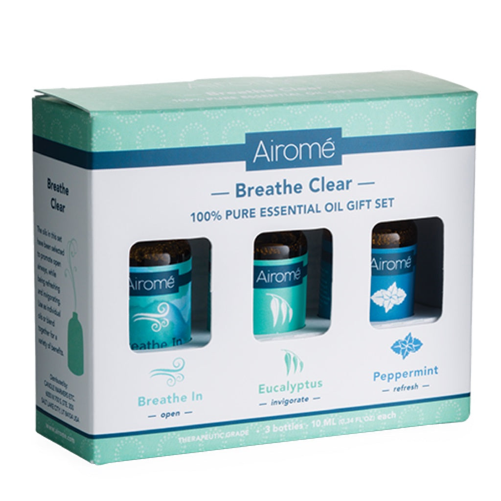 Airome Breathe Clear Essential Oil Gift Set