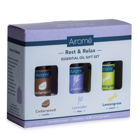 Airome Rest & Relax Essential Oil Gift Set