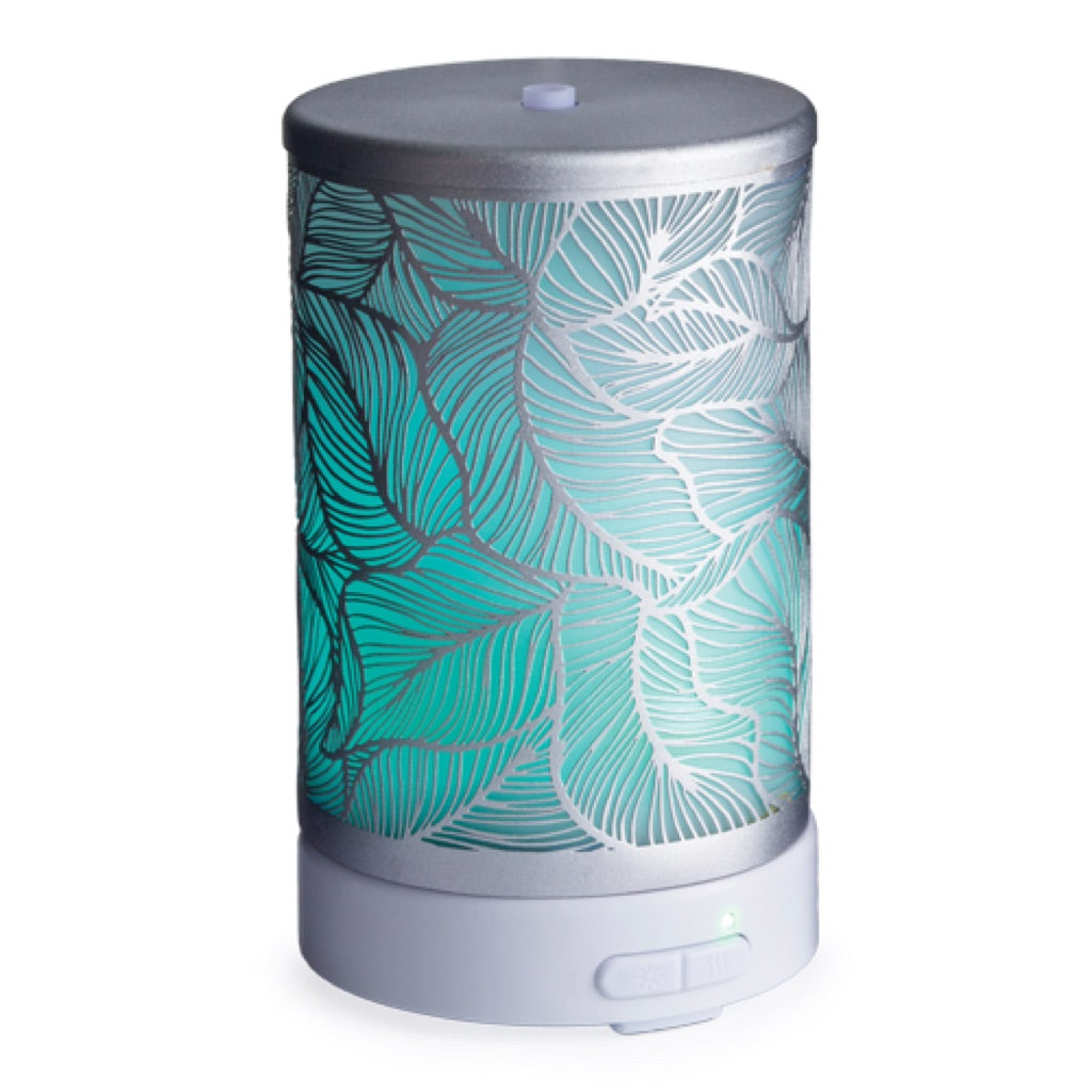 Airome Silver Leaf Glass Essential Oil Diffuser