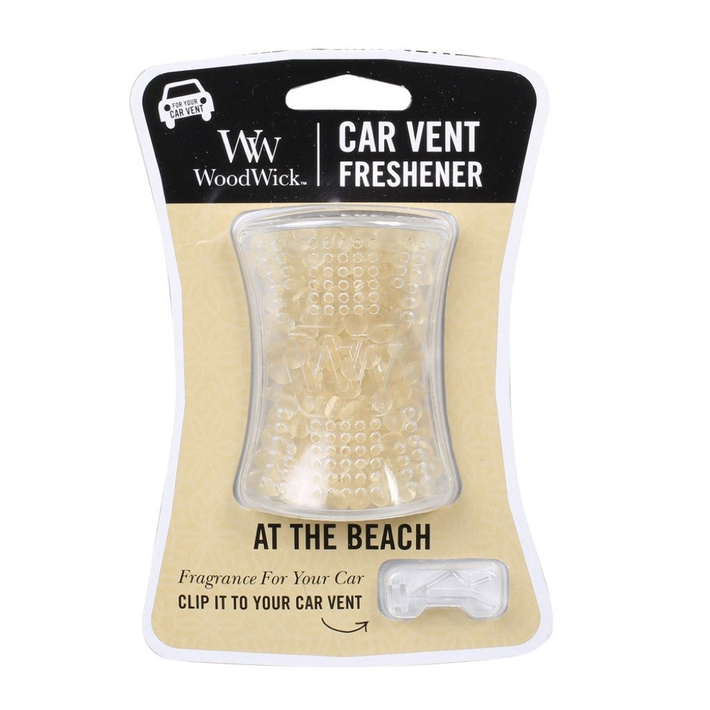 WoodWick At The Beach Car Vent Air Freshener