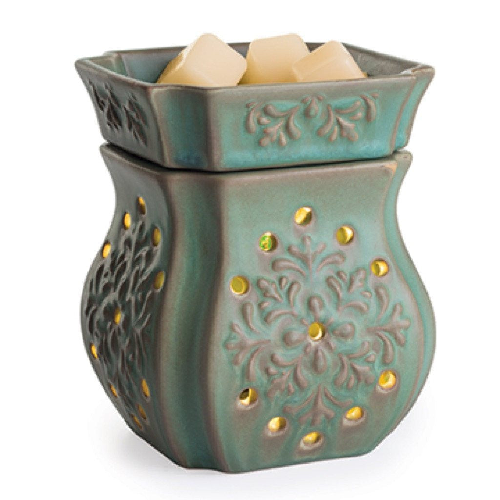 Candle Warmers 2-in-1 Flickering Warmer Patina