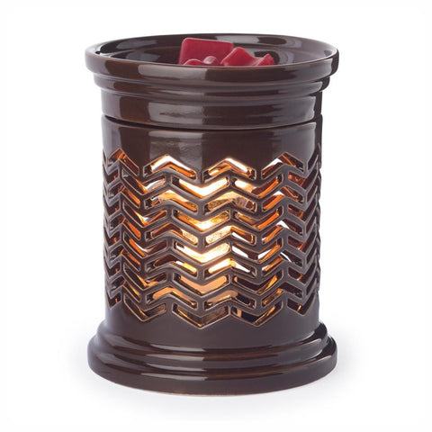 Candle Warmers Chevron Illumination Fragrance Warmer