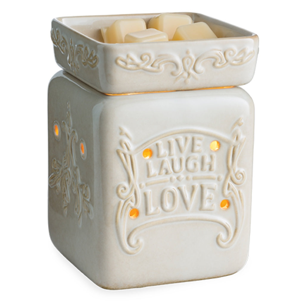 Candle Warmers Live Well Illumination Fragrance Warmer