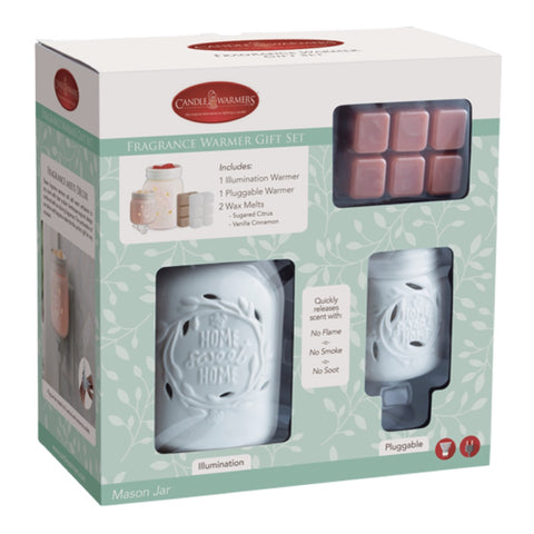Candle Warmers Fragrance Warmer Gift Set