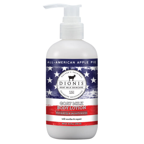 Dionis Goat Milk Body Lotion - All American Apple Pie 8.5 oz.