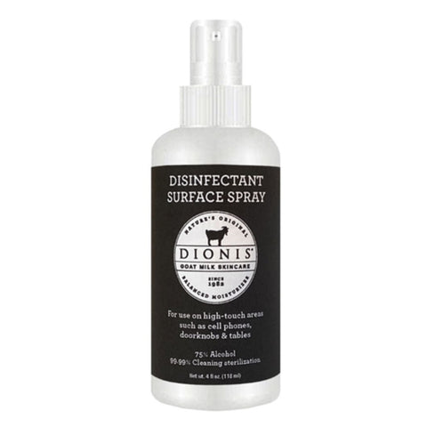Dionis Disinfectant Surface Spray - Unscented 4 oz.