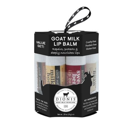Dionis Goat Milk Lip Balm Ornament Gift Set