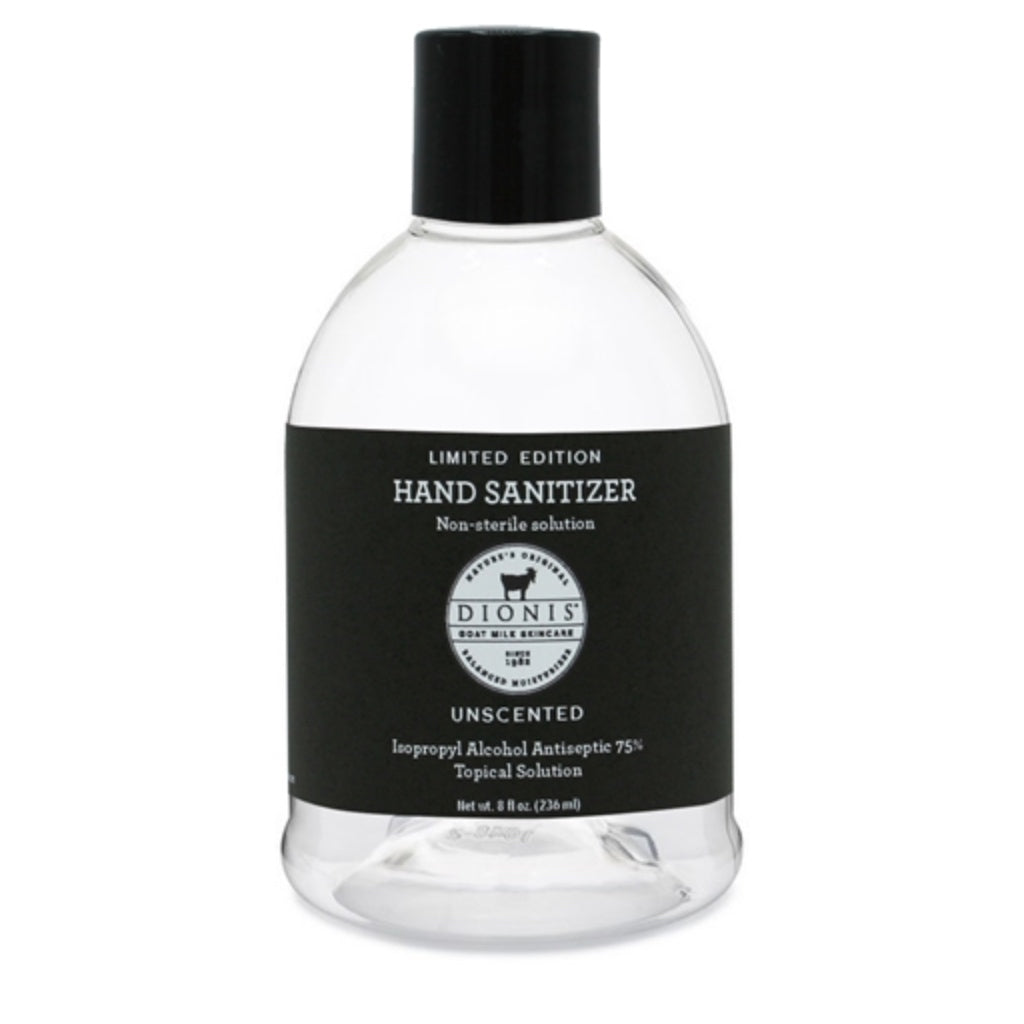 Dionis Hand Sanitizer- Unscented 8 oz.