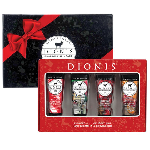 Dionis Goat Milk Holiday Hand Cream 4 pc. Gift Set