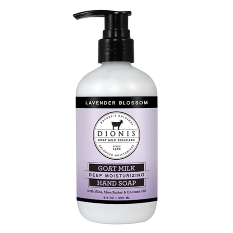 Dionis Goat Milk Hand Soap - Lavender Blossom 8.5 oz.