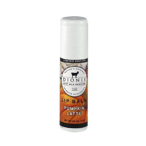 Dionis Goat Milk Lip Balm - Pumpkin Latte .28 oz.