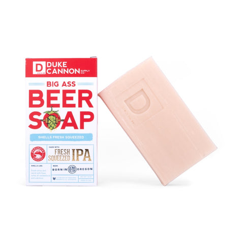Duke Cannon Big Ass Beer Soap - Fresh Squeezed IPA