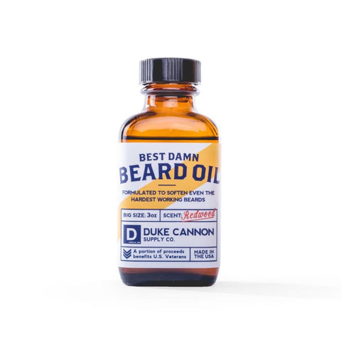 Duke Cannon Best Damn Beard Oil