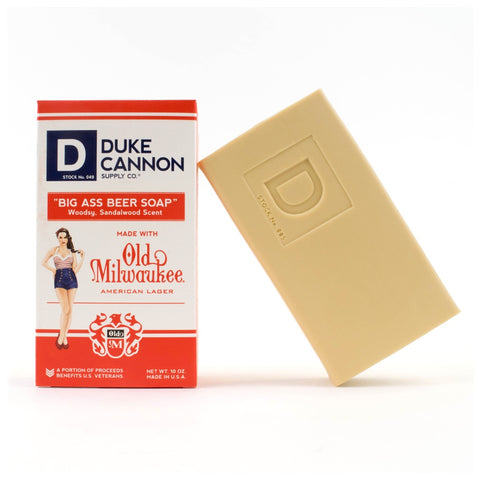 Duke Cannon Big Ass Beer Soap
