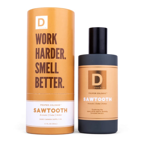 Duke Cannon Proper Cologne -  Sawtooth 1.7 fl. oz.