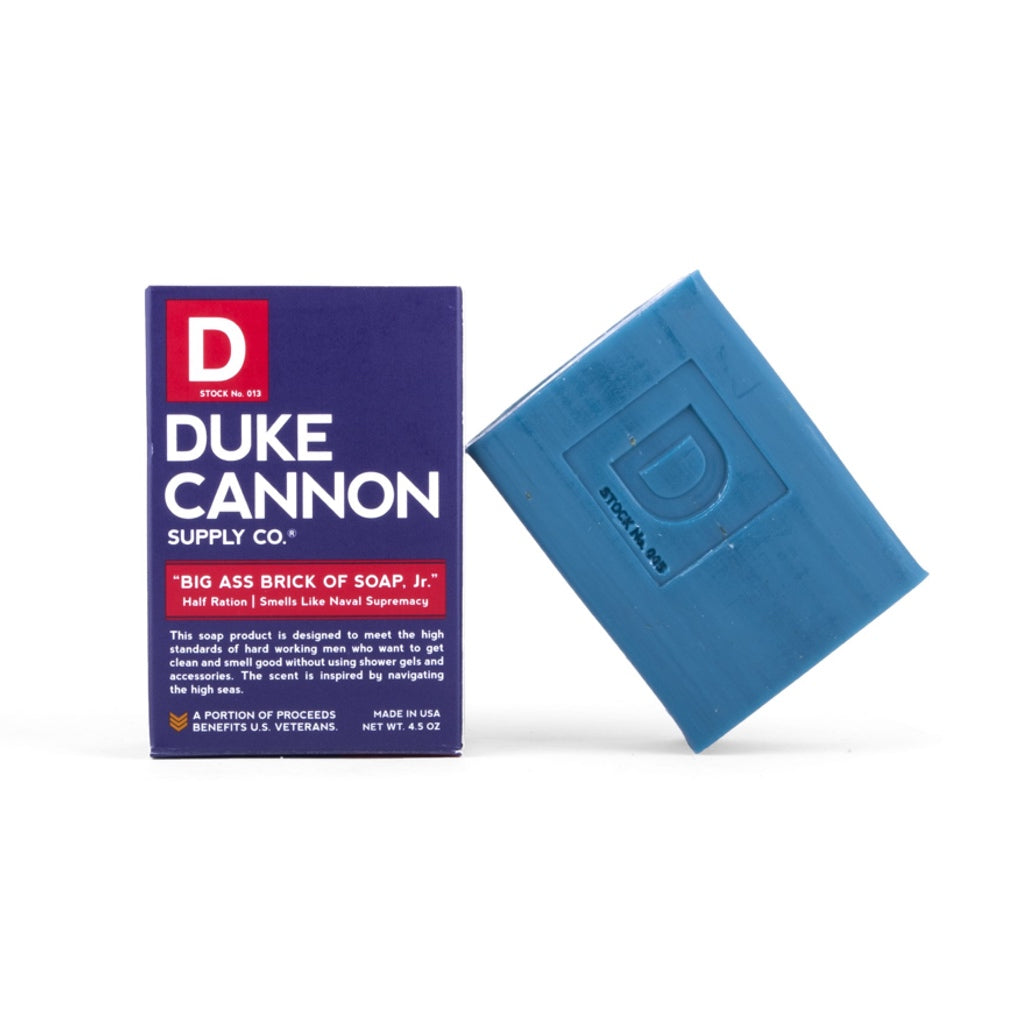 Duke Cannon Big Ass Brick Of Soap, Jr. - Naval Supremacy