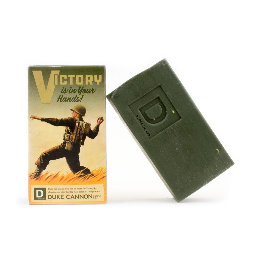 Duke Cannon Limited Edition WWII-Era Big Ass Brick Of Soap - Victory