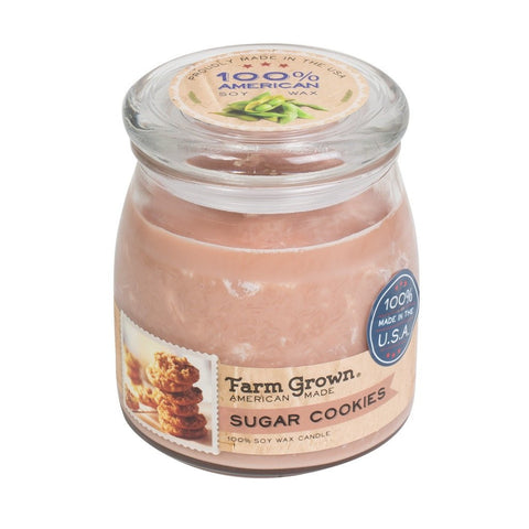 Farm Grown Sugar Cookies Medium Candle 14 oz.