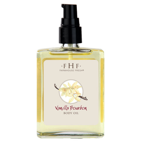 FarmHouse Fresh Vanilla Bourbon Body Oil 4 fl. oz.