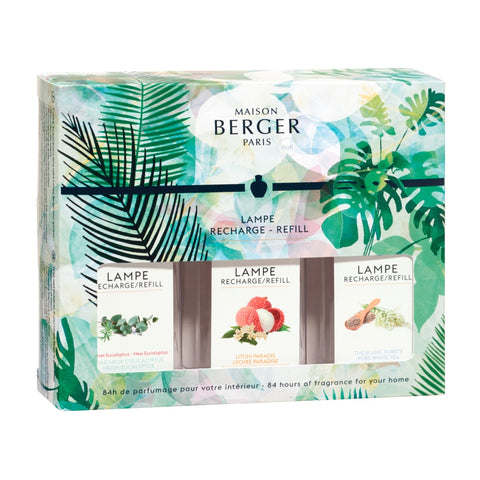 Lampe Berger Limited Edition Immersion Trio-Pack Fragrance Oil 180 ml Set