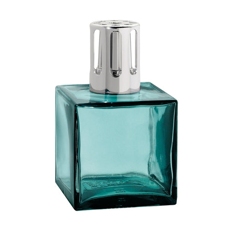 Cube Glass Lampe Berger Lamp - Turquoise