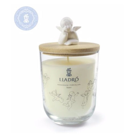 Lladro Dreaming Of You Candle - Mediterranean Beach