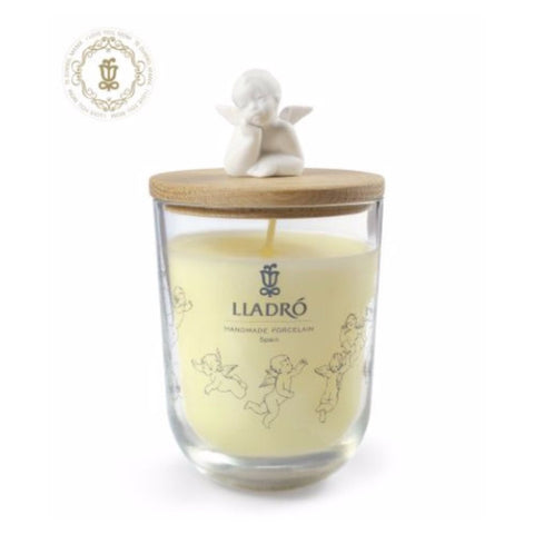 Lladro Dreaming Of You Candle - I Love You, Mom