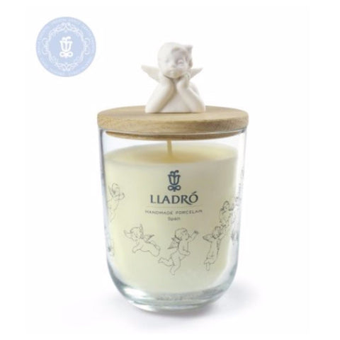 Lladro Missing You Candle - Mediterranean Beach