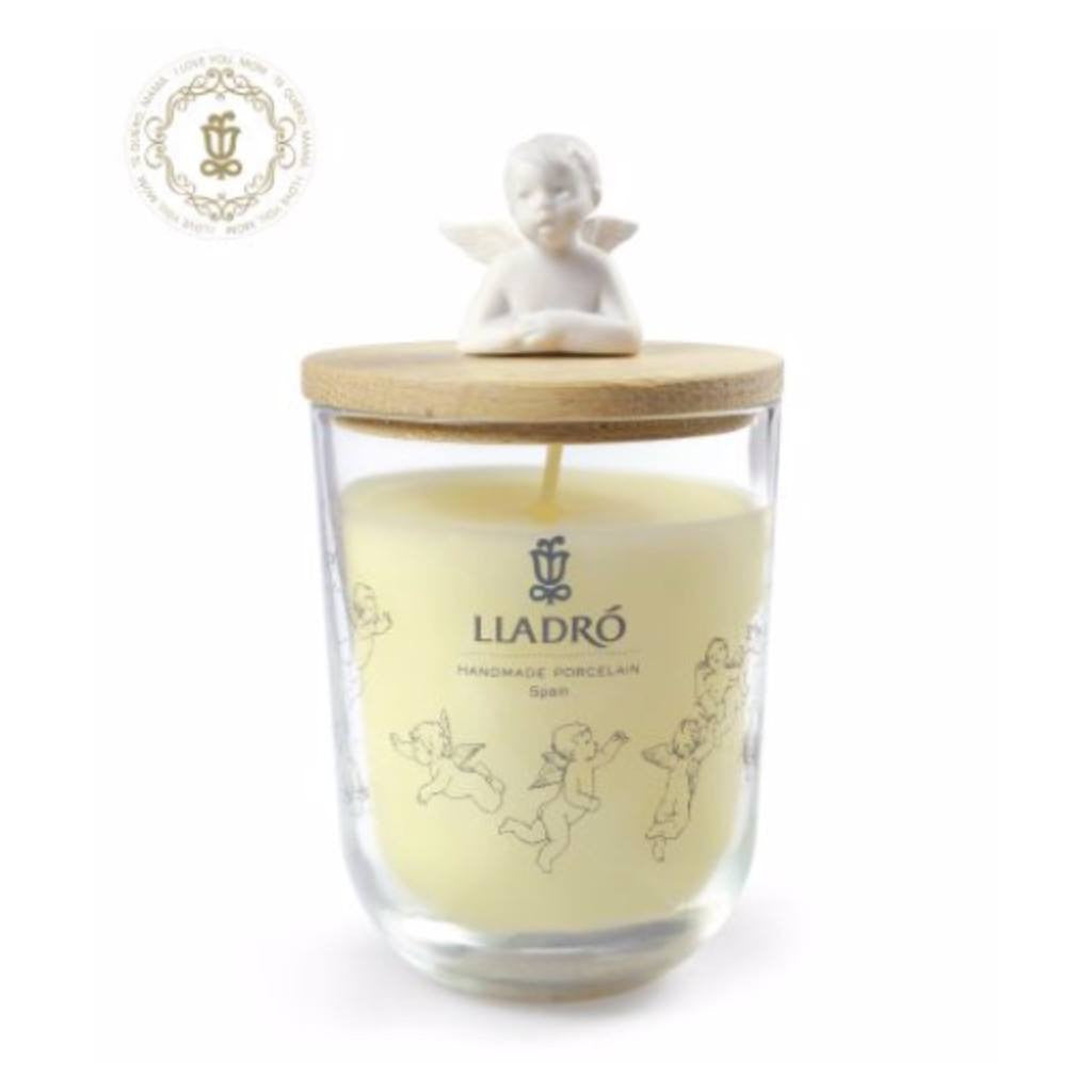 Lladro Thinking Of You Candle - I Love You, Mom