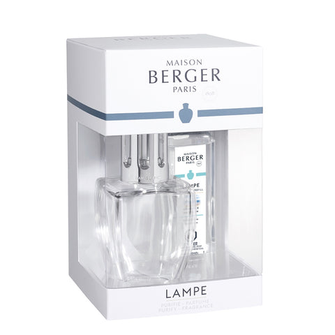 June Glass Lampe Berger Gift Set - Clear
