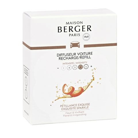 Maison Berger Exquisite Sparkle Car Diffuser Refill