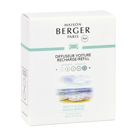 Maison Berger Ocean Breeze Car Diffuser Refill