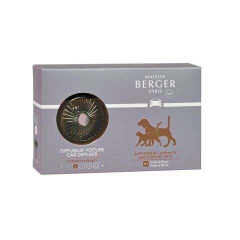 Maison Berger Anti-Pet Car Fragrance Diffuser Set
