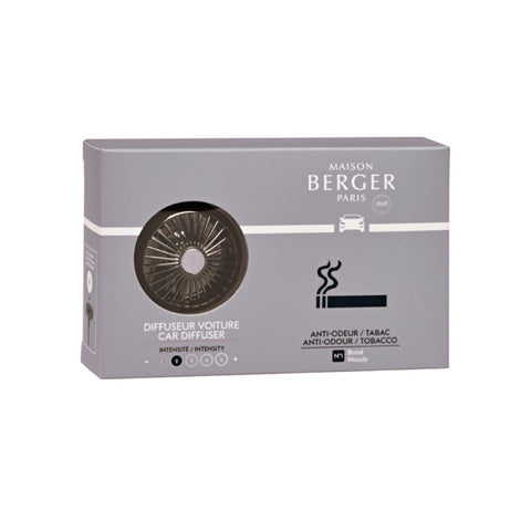 Maison Berger Anti-Tobacco Car Fragrance Diffuser Set
