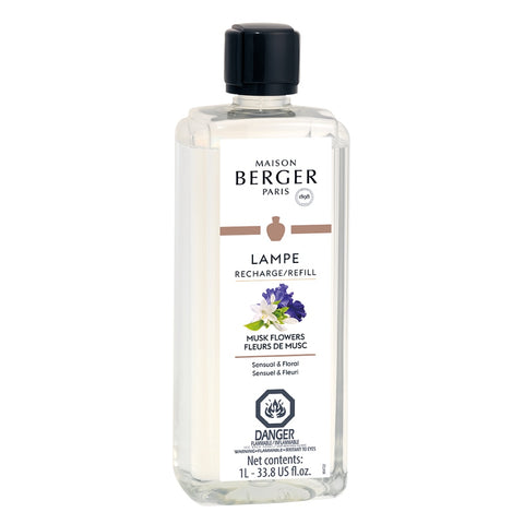 Lampe Berger Musk Flowers Fragrance Oil 1 Liter