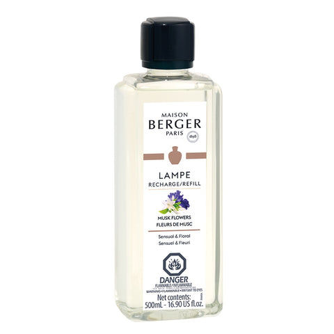 Lampe Berger Musk Flowers Fragrance Oil 500 ml