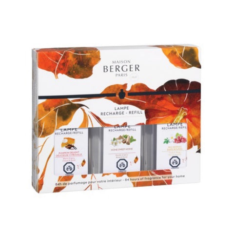 Lampe Berger Limited Edition Fall Trio-Pack Fragrance Oil 180 ml Set