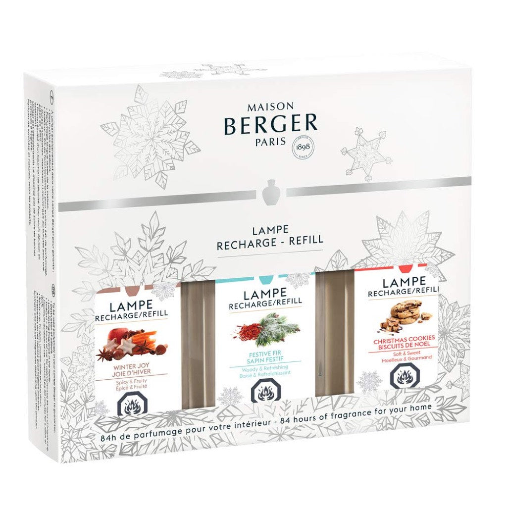 Lampe Berger Winter Trio-Pack Fragrance Oil 180 ml Set