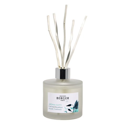 Maison Berger Aroma Happy Fragrance Diffuser 180 ml - Aquatic Freshness
