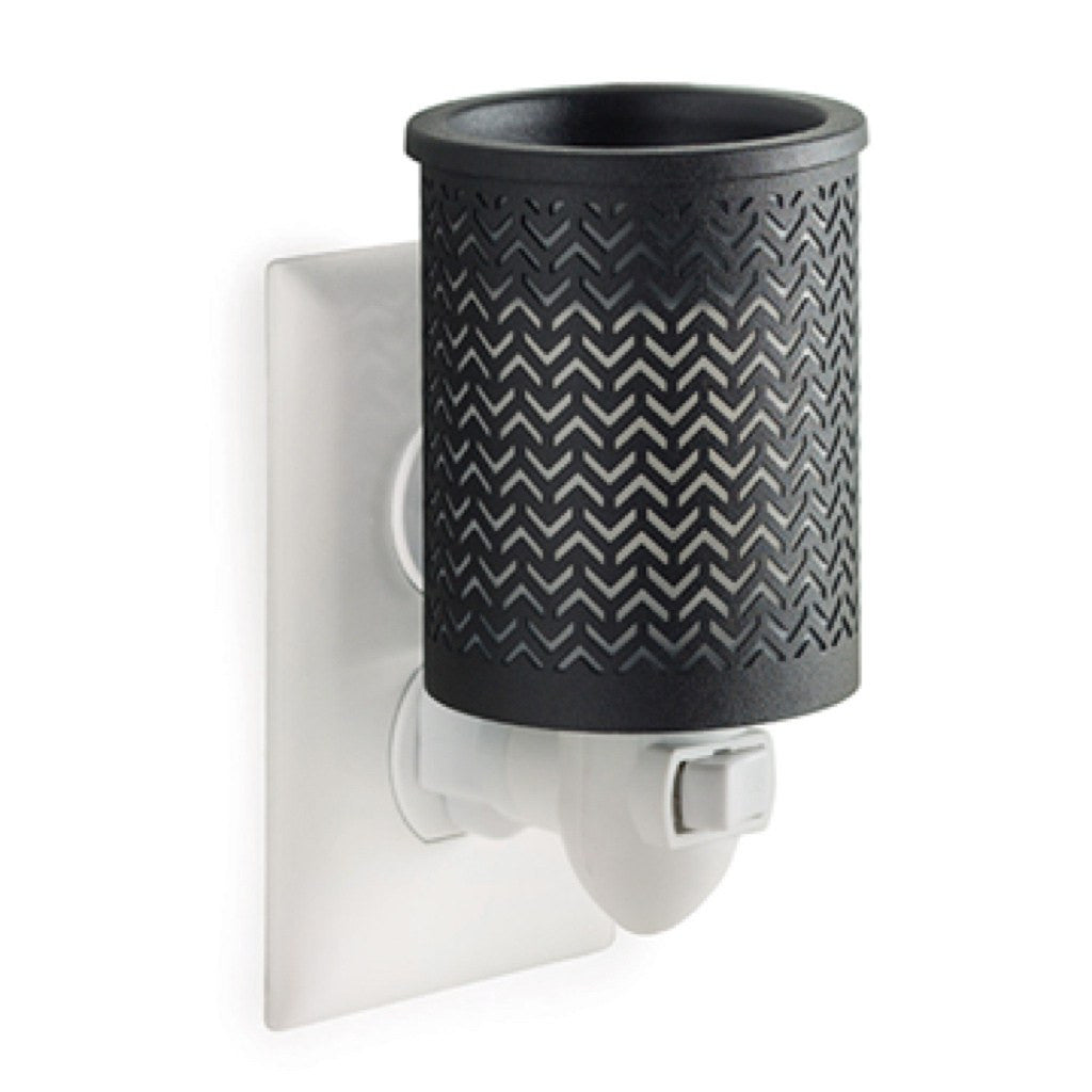 Candle Warmers Chevron Plug-In Fragrance Warmer