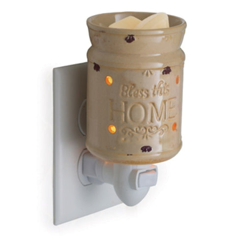 Candle Warmers Bless This Home Plug-In Fragrance Warmer