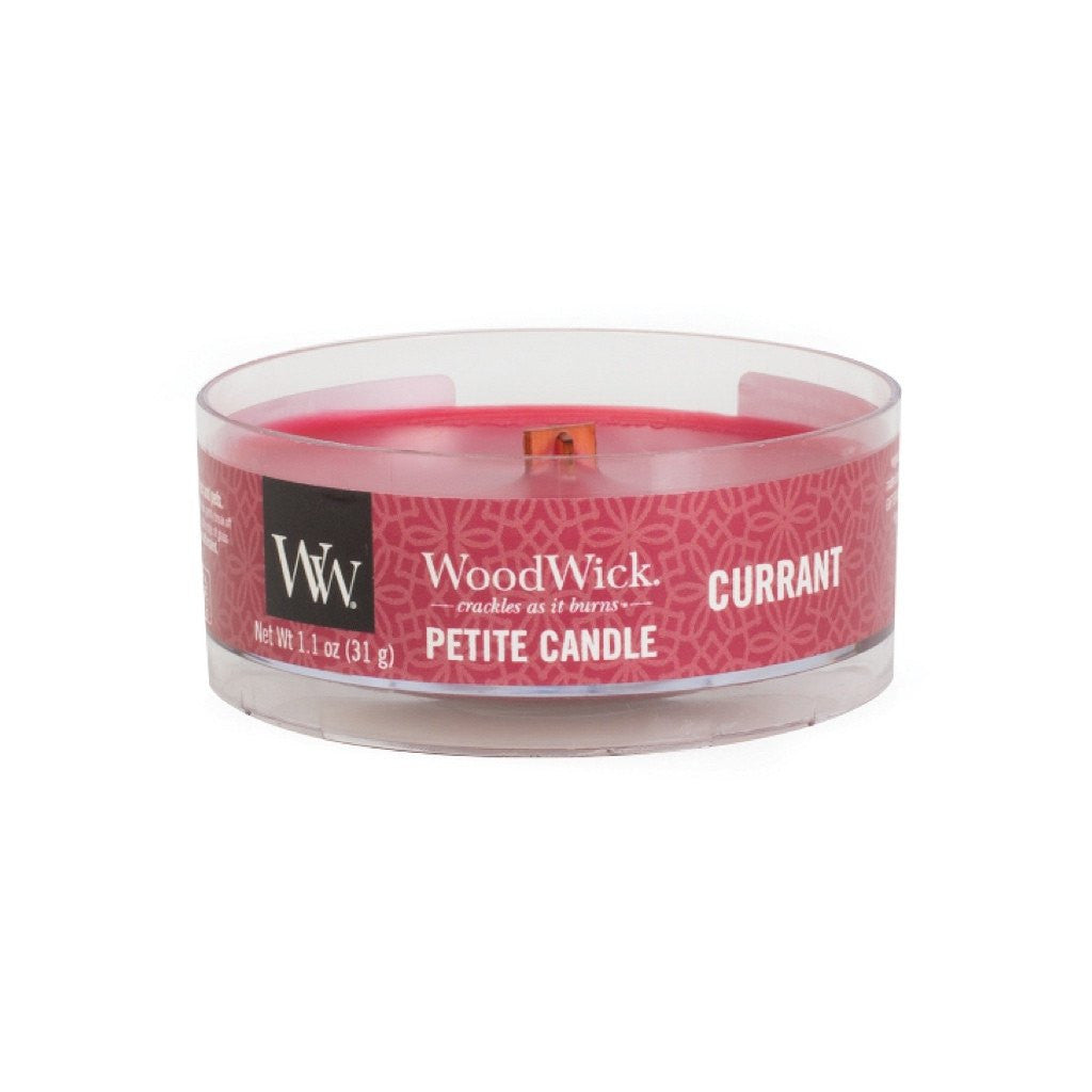 WoodWick Currant Petite Candle 1.1 oz.