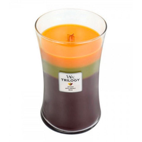 WoodWick Fall Traditions Large Trilogy Candle 22 oz.