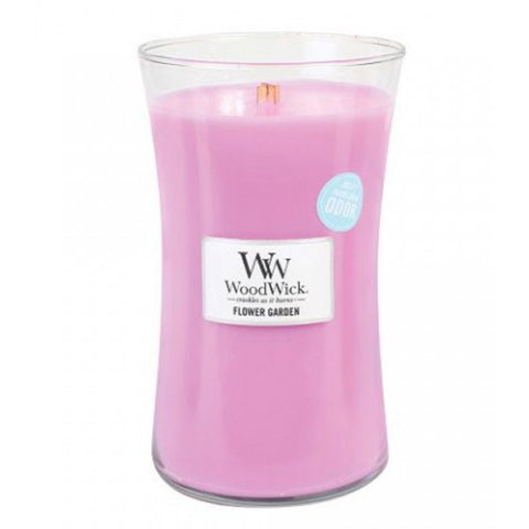 WoodWick Flower Garden Large Jar Candle 22 oz.