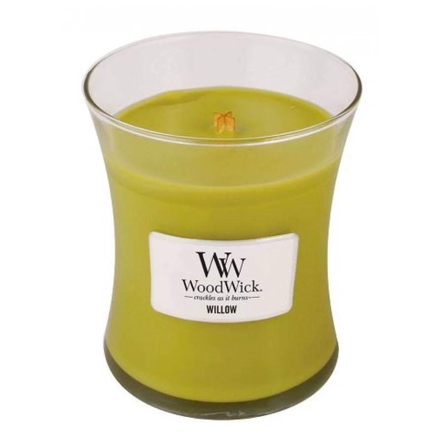 WoodWick Willow Medium Jar Candle 10 oz.