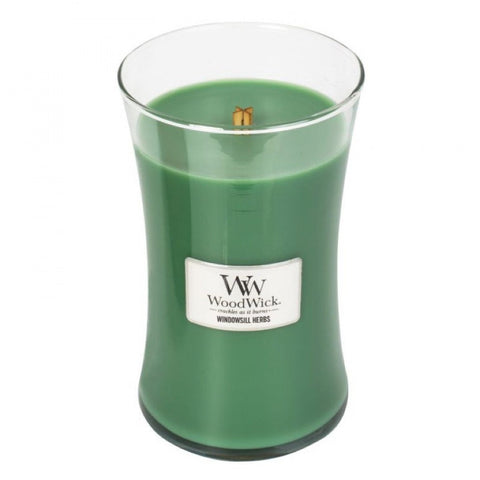 WoodWick Windowsill Herbs Large Jar Candle 22 oz.