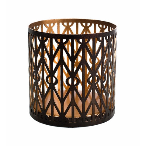 WoodWick Petite Candle Holder - Geometric