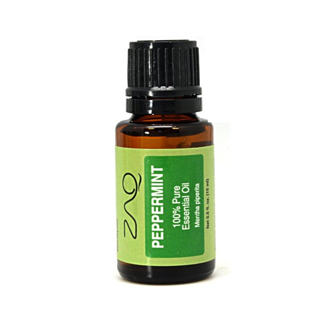 ZAQ Peppermint Pure Essential Oil 15 ml